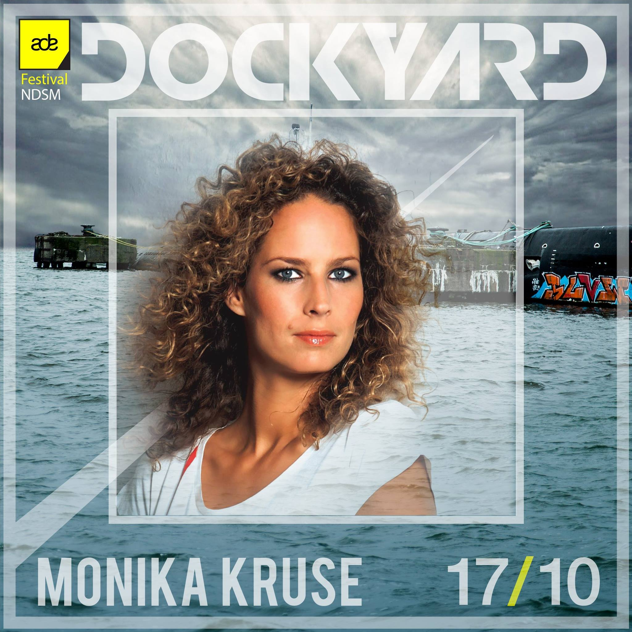 download → Monika Kruse - live at Dockyard Festival, FACT Stage, NDSM Docklands, ADE 2015 - 17-Oct-2015