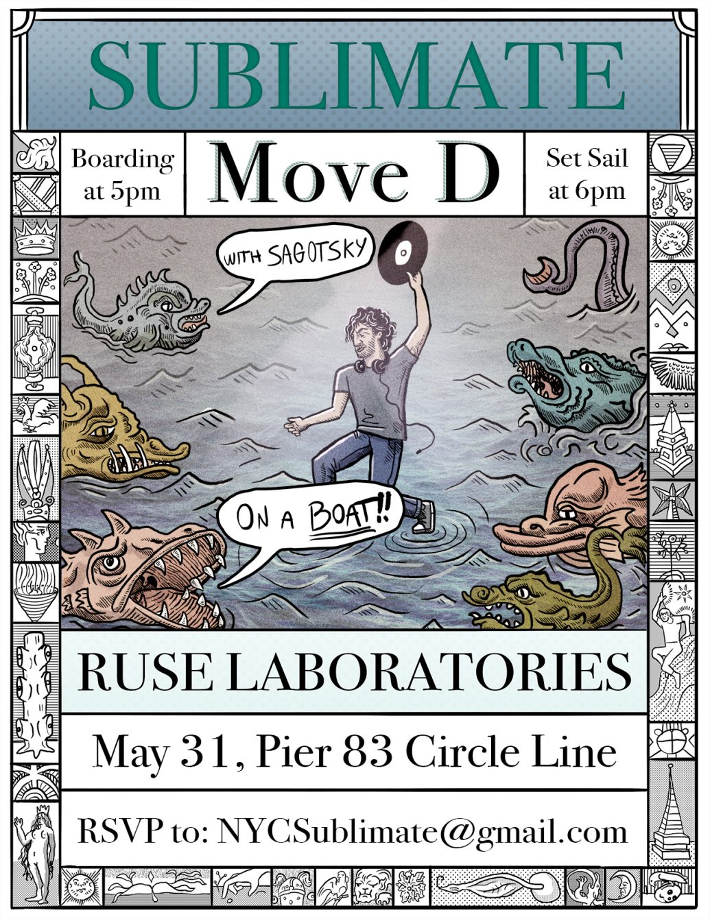 download → Move D - live at Sublimate (NYC) - 31-May-2015