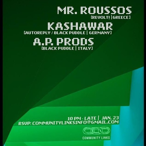 download → Mr. Roussos - live at Community Links (Boston) - 23-Jan-2016