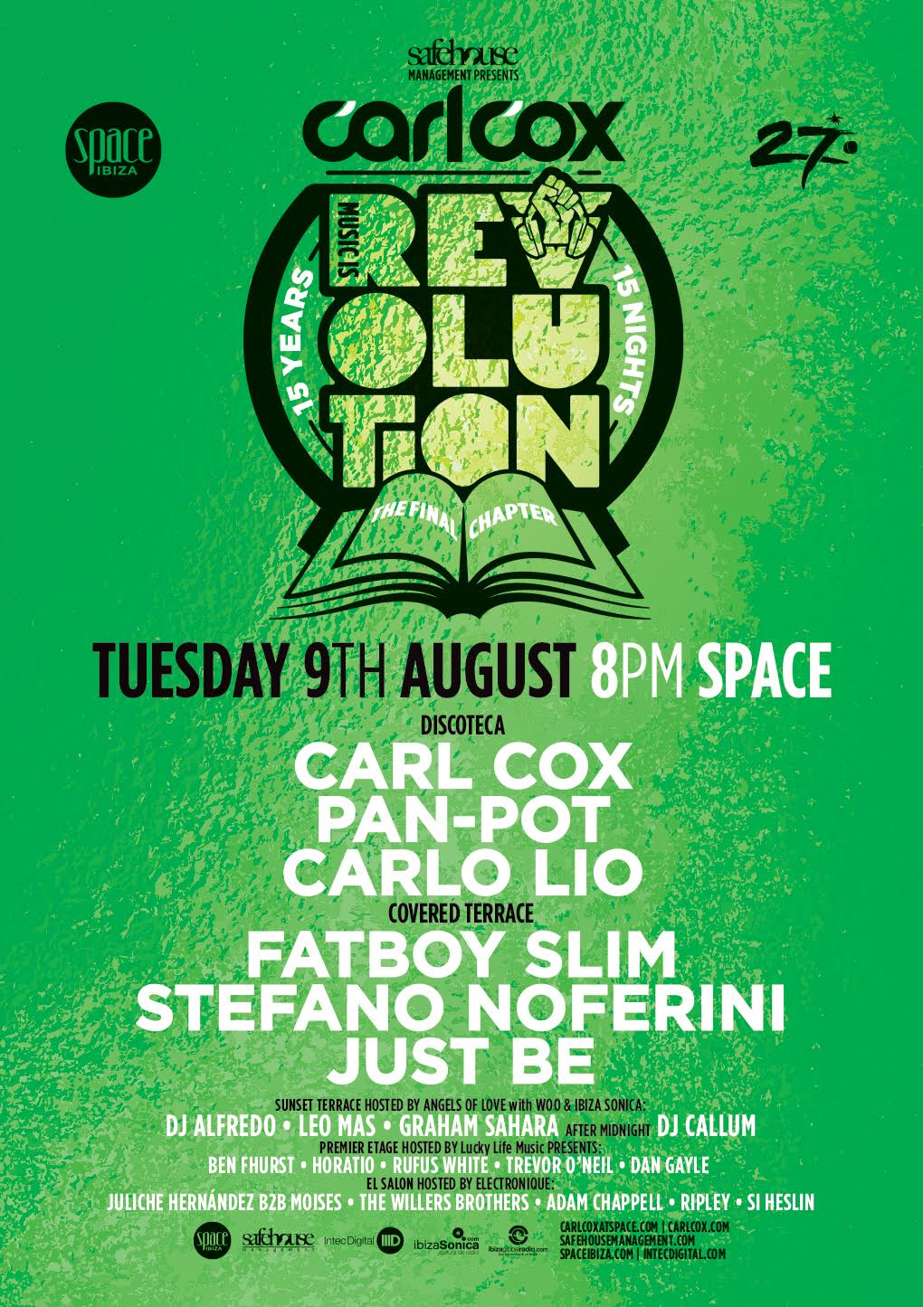 download → Stefano Noferini - live at Music is Revolution, Week 9 (Space, Ibiza) - 09-Aug-2016