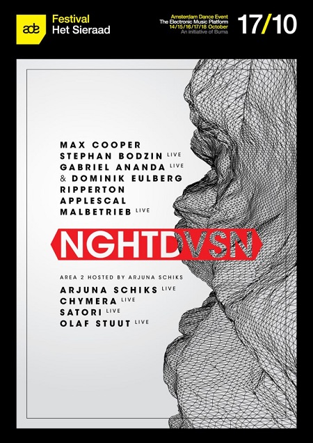 download → Stephan Bodzin, Max Cooper, Dominik Eulberg & Gabriel Ananda, Ripperton, Applescal, Malbetrieb - live at NGHTDVSN, Amsterdam Dance Event 2015 - 17-Oct-2015
