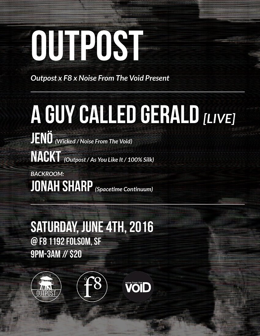 download → Nackt - live at Outpost (F8, San Francisco) - 06-Apr-2016