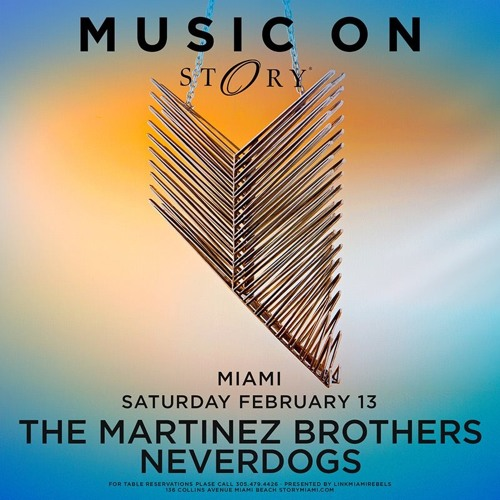 download → Neverdogs - live at Music On (Story, Miami) - 13-Feb-2016