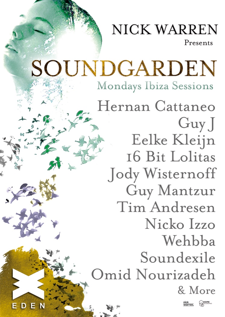 download → Nick Warren - presents Soundgarden, Eden Club, Ibiza - 07-Sep-2015
