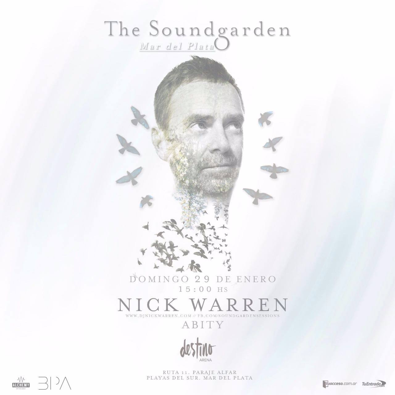 download → Nick Warren - live at The Soundgarden Argentina (Destino Arena, Bs As) - 29-Jan-2017