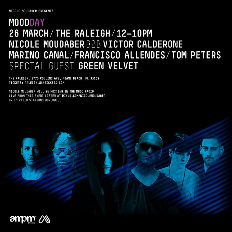 download → Nicole Moudaber B2B Victor Calderone & Friends - Live from Mooday (Raleigh Hotel - WMC 2015) [7 Hours] - 26-Mar-2015
