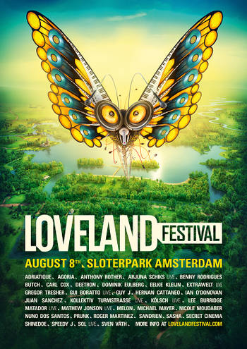 download → Nicole Moudaber - live at Loveland Festival 2015, Amsterdam - 08-Aug-2015