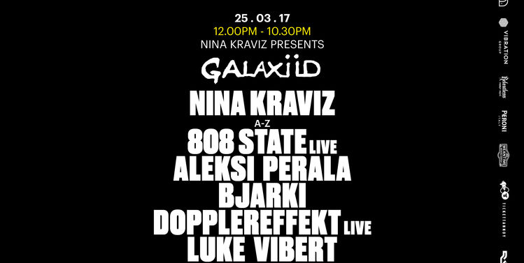 download → Nina Kraviz - live at Galaxid (Printworks, London) - 25-Mar-2017