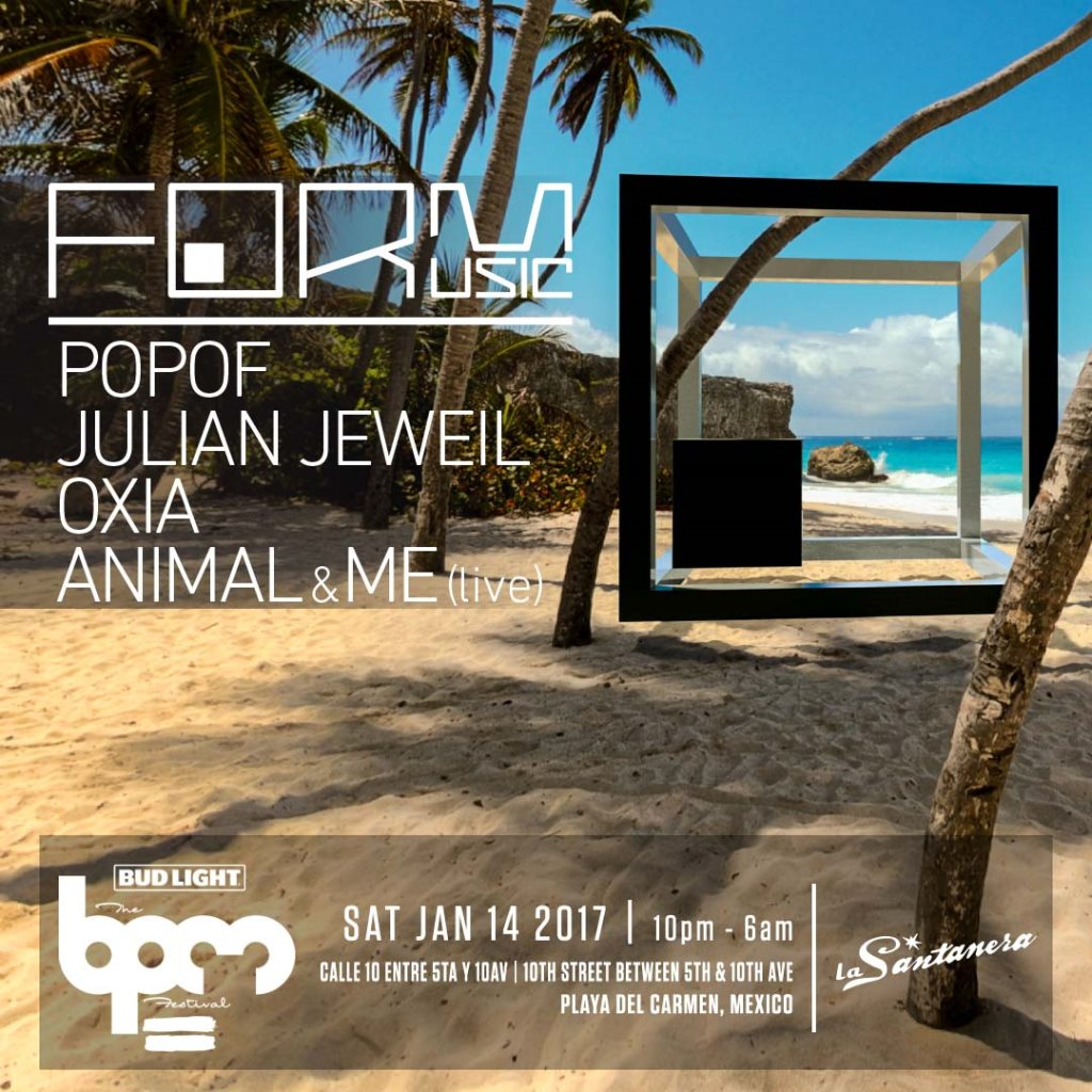 download → POPOF - live at FORM Music, Santanera (THE BPM 2017, Mexico) - 15-Jan-2017