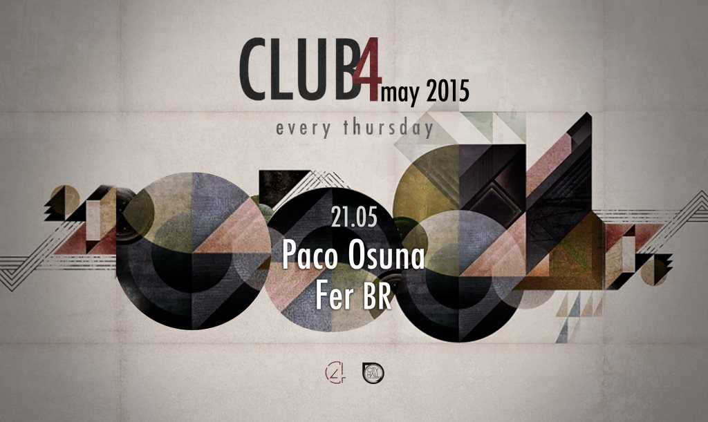 download → Paco Osuna - Live At Club4, Barcelona - 1080p HD - 15-May-2015