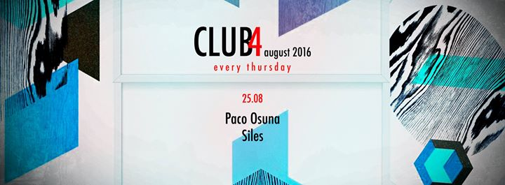 download → Paco Osuna - live at Club4, Barcelona - 25-Aug-2016