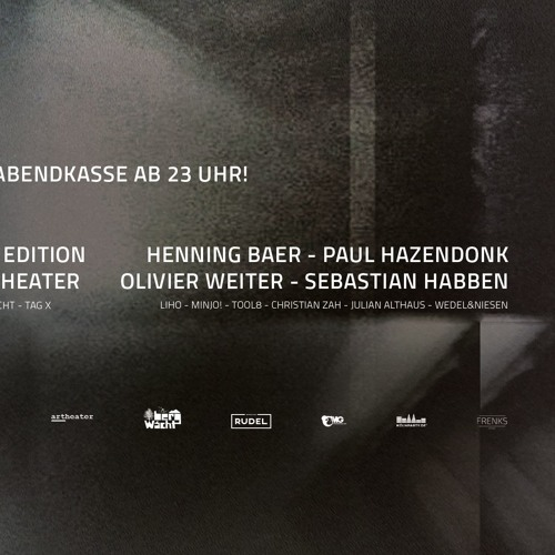 download → Paul Hazendonk - live at NYE Party (Artheater, Cologne) - 31-Dec-2016