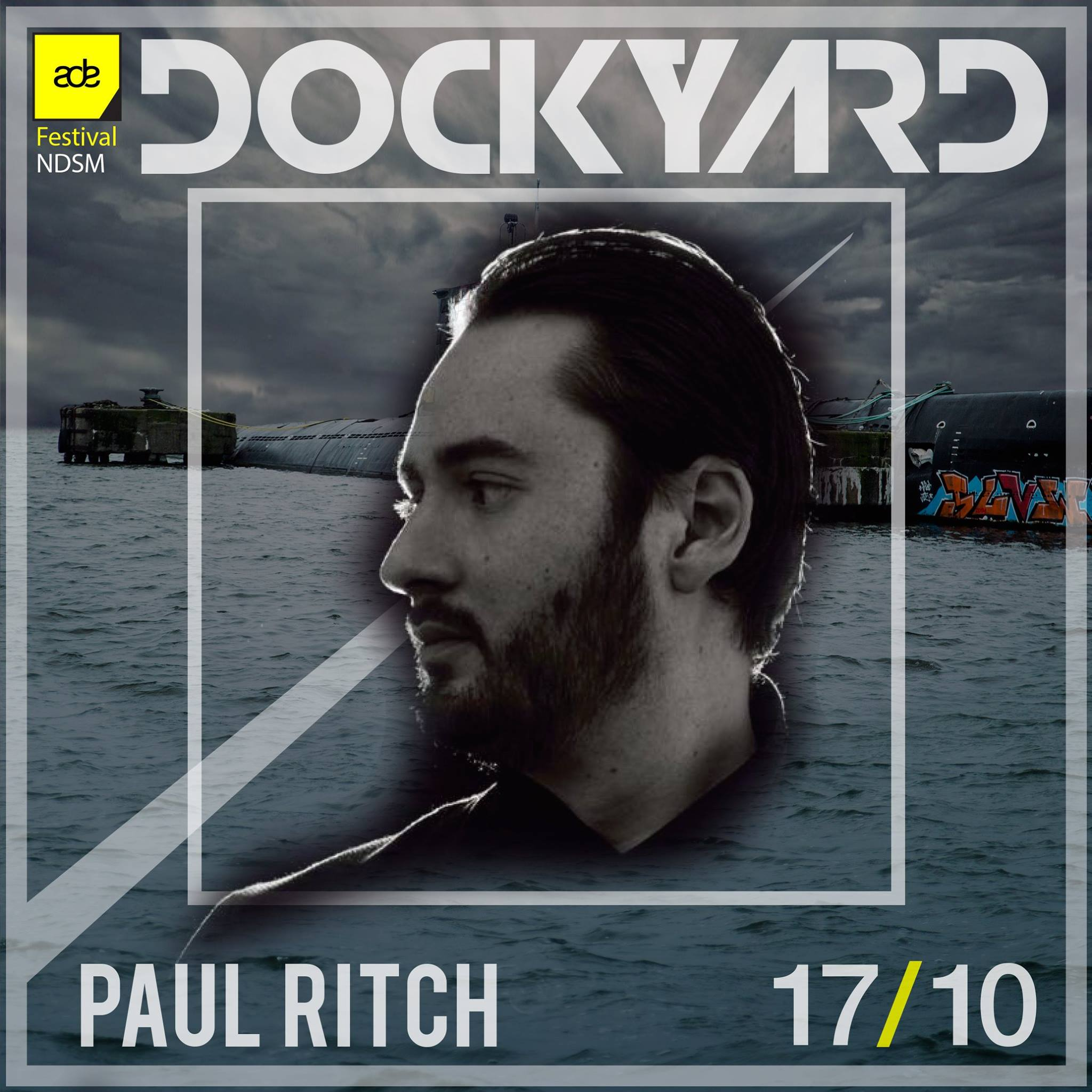 download → Paul Ritch - live at Dockyard Festival, FACT Stage, NDSM Docklands, ADE 2015 - 17-Oct-2015
