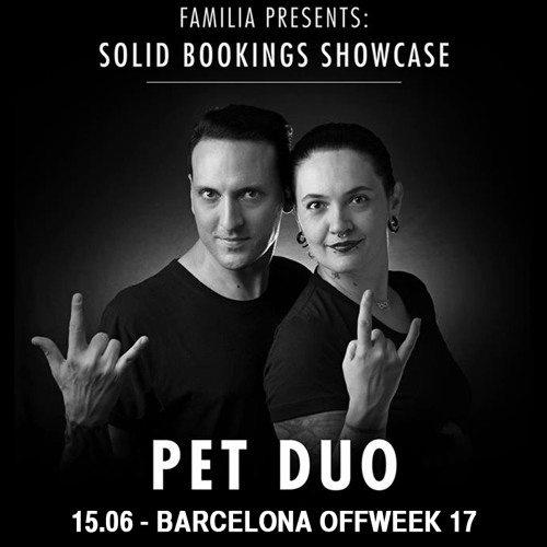download → PetDuo - live at Solid Bookings Showcase (Sonar 2017 Off Week, Barcelona) - June 2017