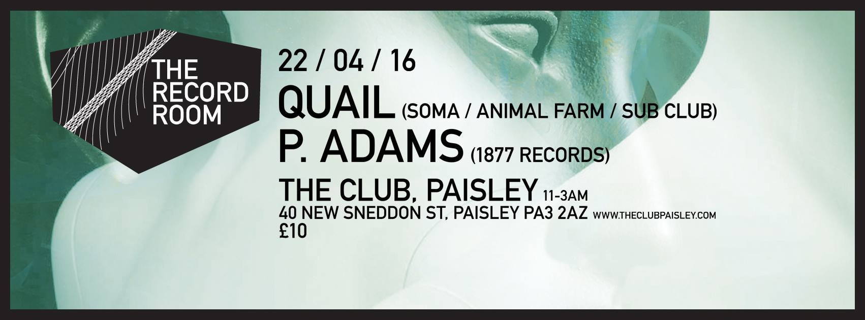 download → Quail - live at The Club, Paisley (Scotland) - 16-Apr-2016