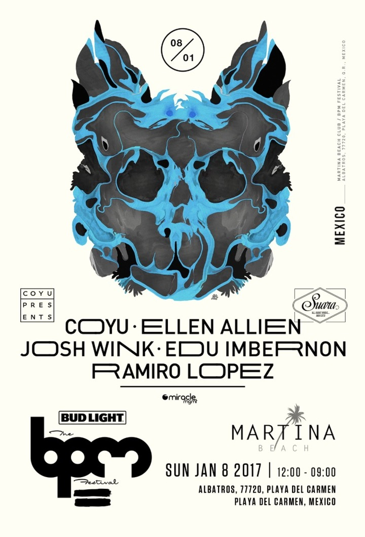 download → Ramiro Lopez B2B Coyu - live at Suara, Martina Beach (THE BPM 2017, Mexico) - 08-Jan-2017