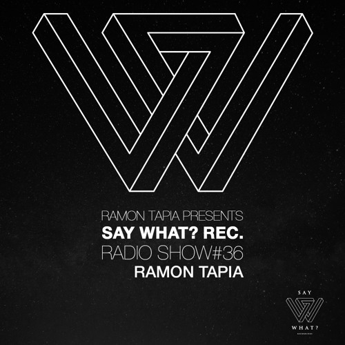 download → Ramon Tapia - Say What Podcast 036 - January 2016