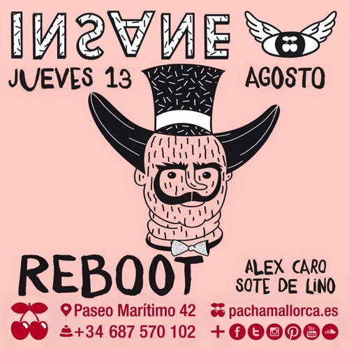 download → Reboot - live at Insane (Pacha, Mallorca) - 13-Aug-2015