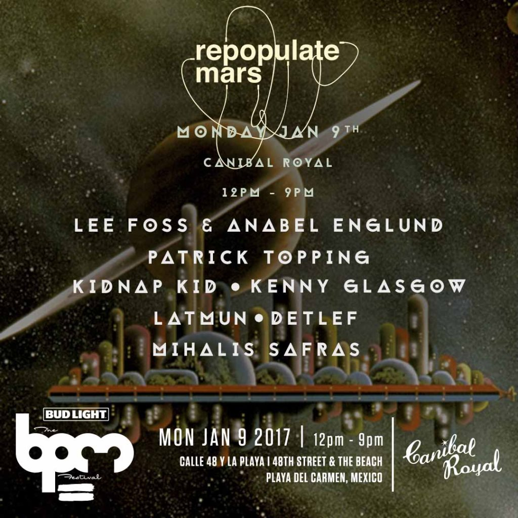 download → Mihalis Safras - live at Repopulate Mars, Canibal Royal (THE BPM 2017, Mexico) - 09-Jan-2017