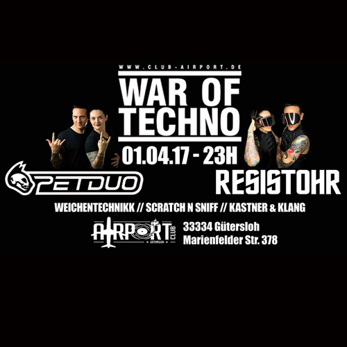download → Resistohr Vs. PETDuo - live at Airport Club (Germany) - 01-Apr-2017