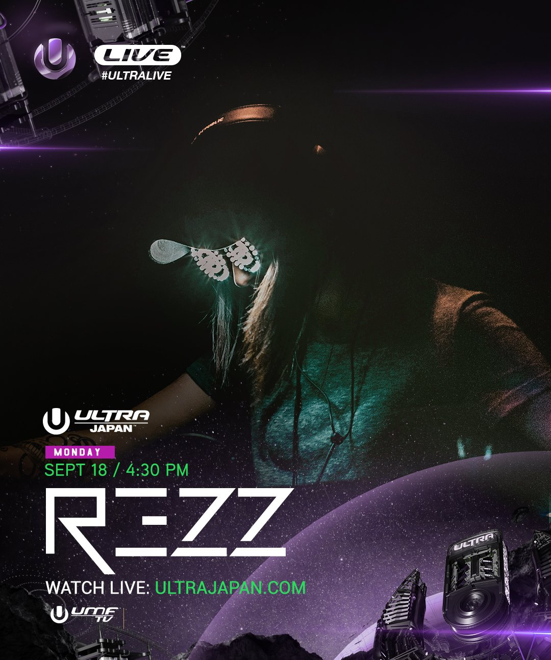 download → Rezz - live at Ultra Music Festival 2017 (Japan) - 18-Sep-2017