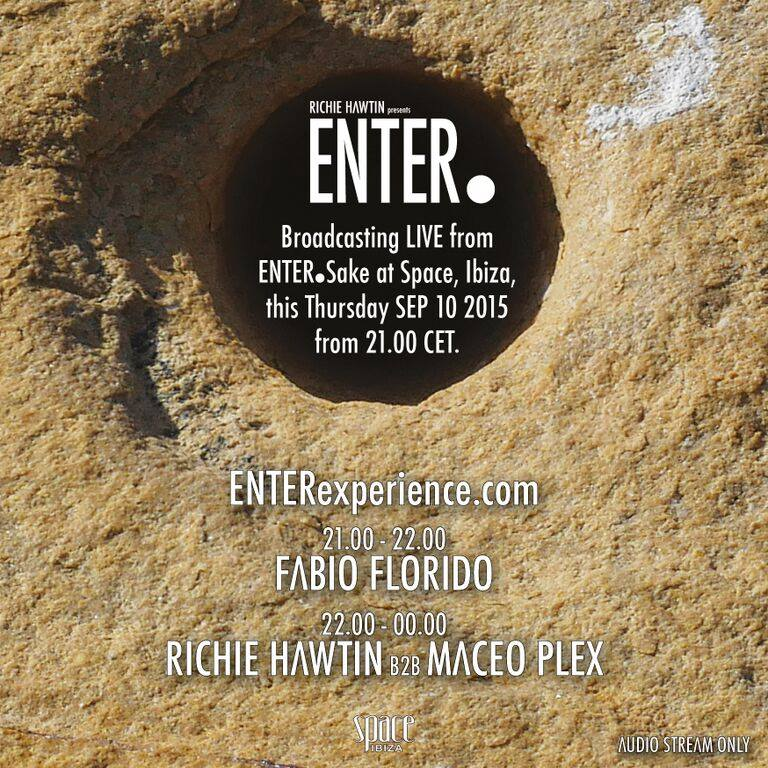 download → Richie Hawtin B2B Maceo Plex - live at ENTER.Sake, Week 11, Space (Ibiza) - 11-Sep-2015