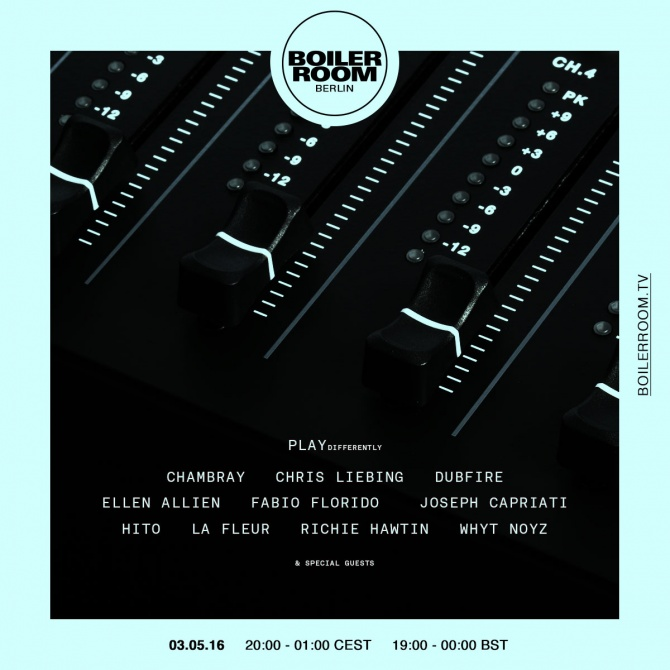 download → livesets from Boiler Room Berlin (Play Differently) - 03-May-2015