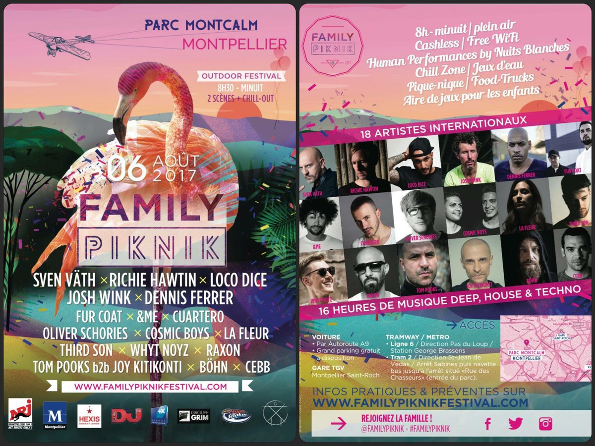 download → Richie Hawtin - live at Family Piknik 2017 (Montpellier) - August 2017