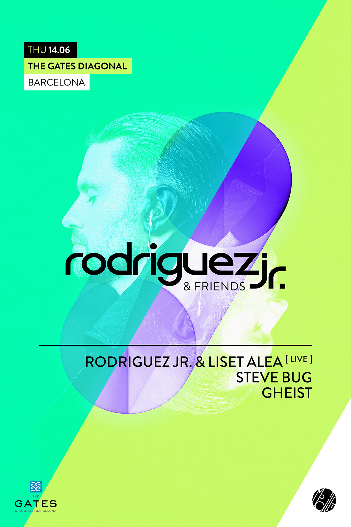 download → Rodriguez Jr. & Liset Alea, GHEIST, Steve Bug - live at Rodriguez Jr. & Friends Rooftop 2018, Barcelona, Off Week 2018 - 14-Jun-2018