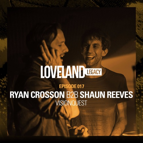 download → Ryan Crosson b2b Shaun ReeveS - live at Loveland Festival 2014 (Visionquest Showcase), Amsterdam Dance Event - October 2014