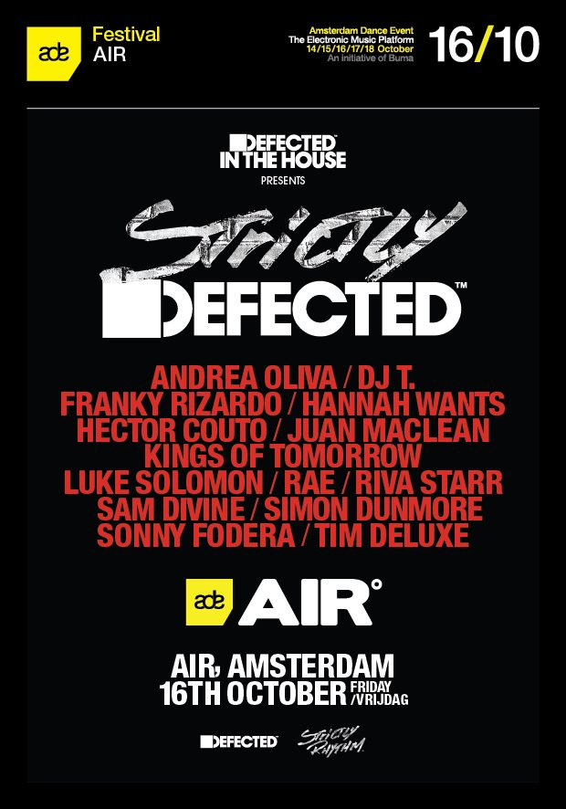 download → livesets from Strictly Defected, Air Night Club, ADE 2015 - 16-Oct-2015