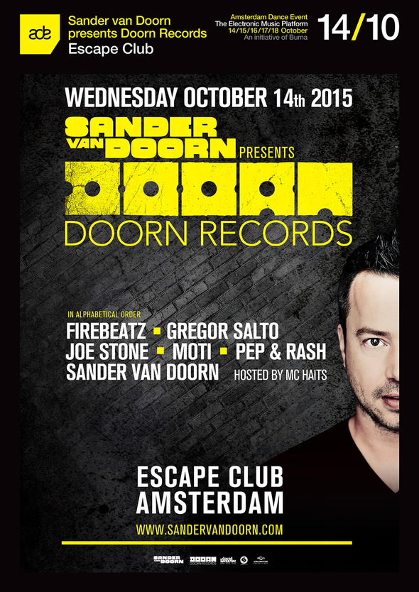 download → Sander van Doorn - live at Doorn Records Label Night, Escape, Amsterdam (ADE 2015) - 14-Oct-2015