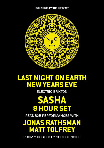 download → Sasha - Last Night On Earth 009 (Live at Electric Brixton, London, NYE 2015) - January 2016
