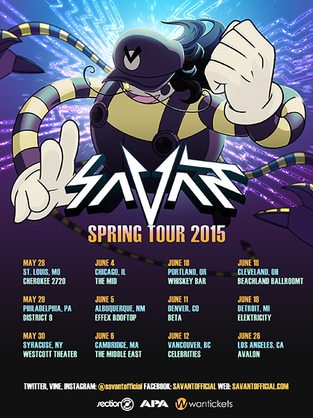 download → Savant - live at Beta Nightclub, Denver, CO (Spring Tour 2015) - 11-Jun-2015
