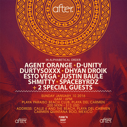 download → Schmitty - live at After. pres Syncopate, Playa Paraiso Beach Club (The BPM 2016, Mexico) - 10-Jan-2016
