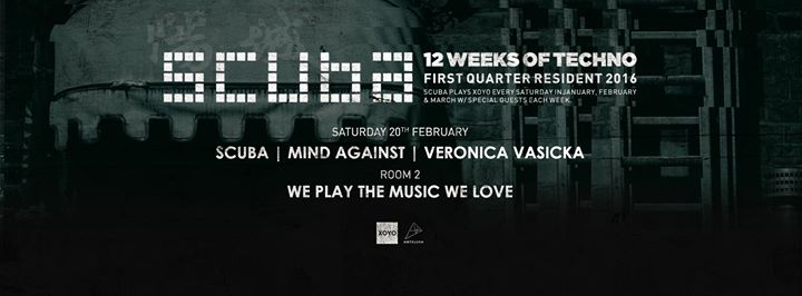 download → Scuba x We Play The Music We Love - live at XOYO (London) - 20-Feb-2016
