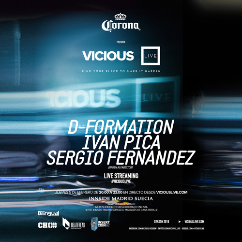 download → Sergio Fernandez - Live At Hotel Innside Madrid (Vicious Live) - FULL SET - 05-Feb-2015