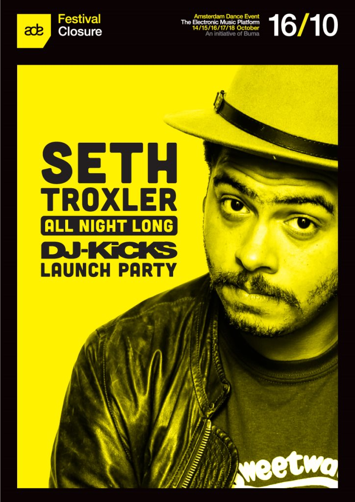 download → Seth Troxler - DJ Kicks Launch Party, Closure, ADE 2015 - 720p HD - 17-Oct-2015