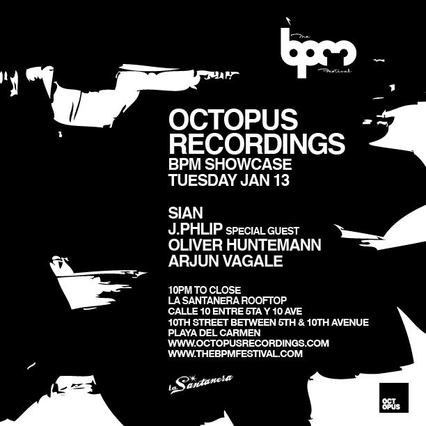 download → Sian - live at Octopus Showcase, La Santanera (The BPM 2016, Mexico) - 14-Jan-2016