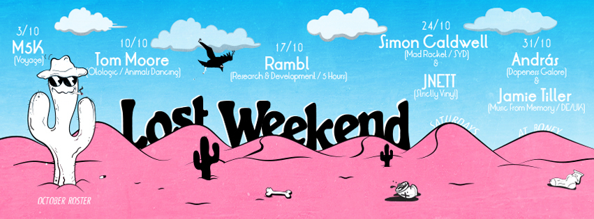 download → Simon Caldwell - live at Lost Weekend - 24-Oct-2015