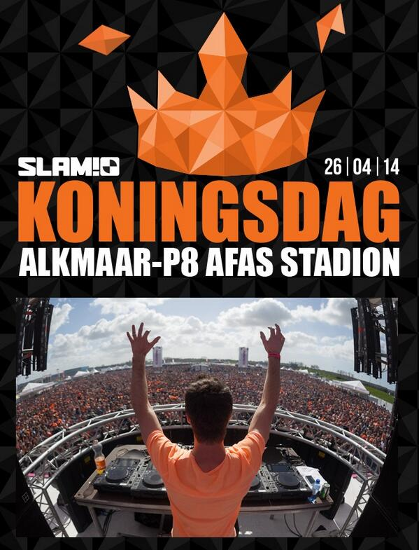download → Martin Garrix, W and W, Bassjackers, Firebeatz, Showtek, The Partysquad - live @ SLAM!FM Koningsdag 2014, Netherlands - April 2014