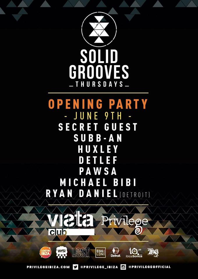 download → Subb-an, Detlef, Ryan Daniel, PAWSA - live at Solid Grooves Opening Party 2016 (Privilege, Ibiza) - 09-Jun-2016