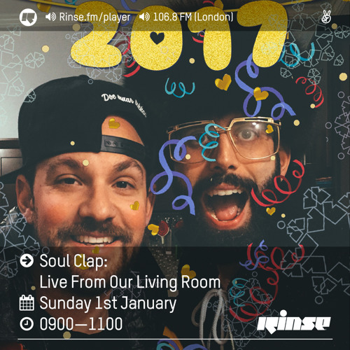 download → Soul Clap - Live From Our Living Room - 01-Jan-2017