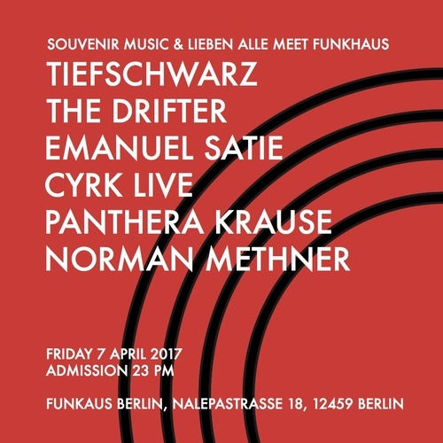 download → Emanuel Satie - live at Souvenir Music & Lieben Alle meet Funkhaus (Berlin) - 07-Apr-2017