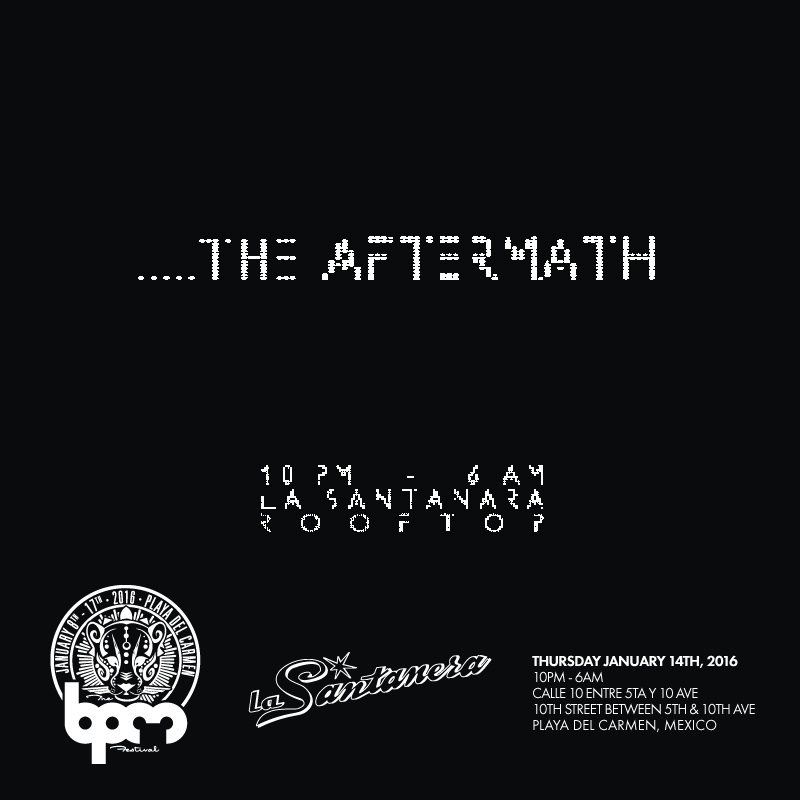 download → Stacey Pullen - live at The Aftermath, La Santanera (The BPM 2016, Mexico) - 14-Jan-2016