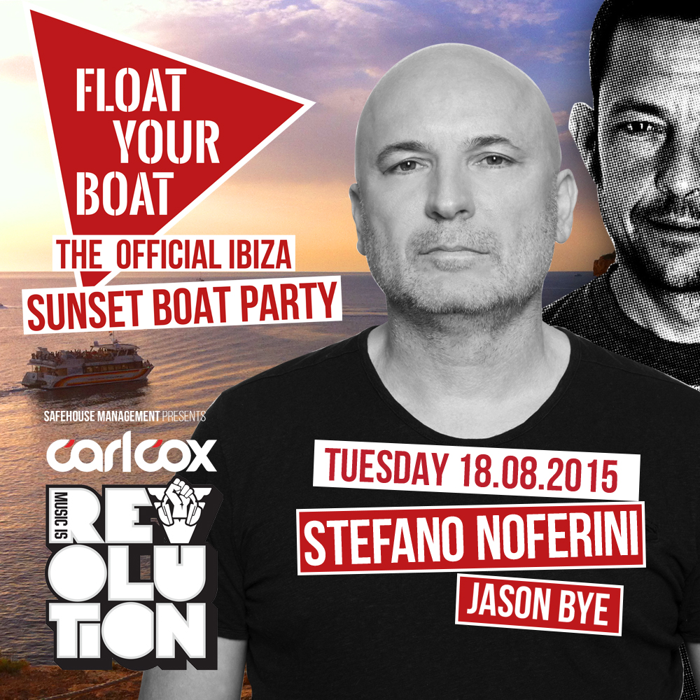 download → Jason Bye - live at Float Your Boat, Official Sunset Boat Party, Ibiza - 21-Aug-2015