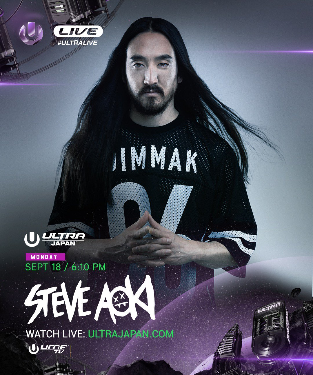 download → Steve Aoki - live at Ultra Music Festival 2017 (Japan) - 18-Sep-2017