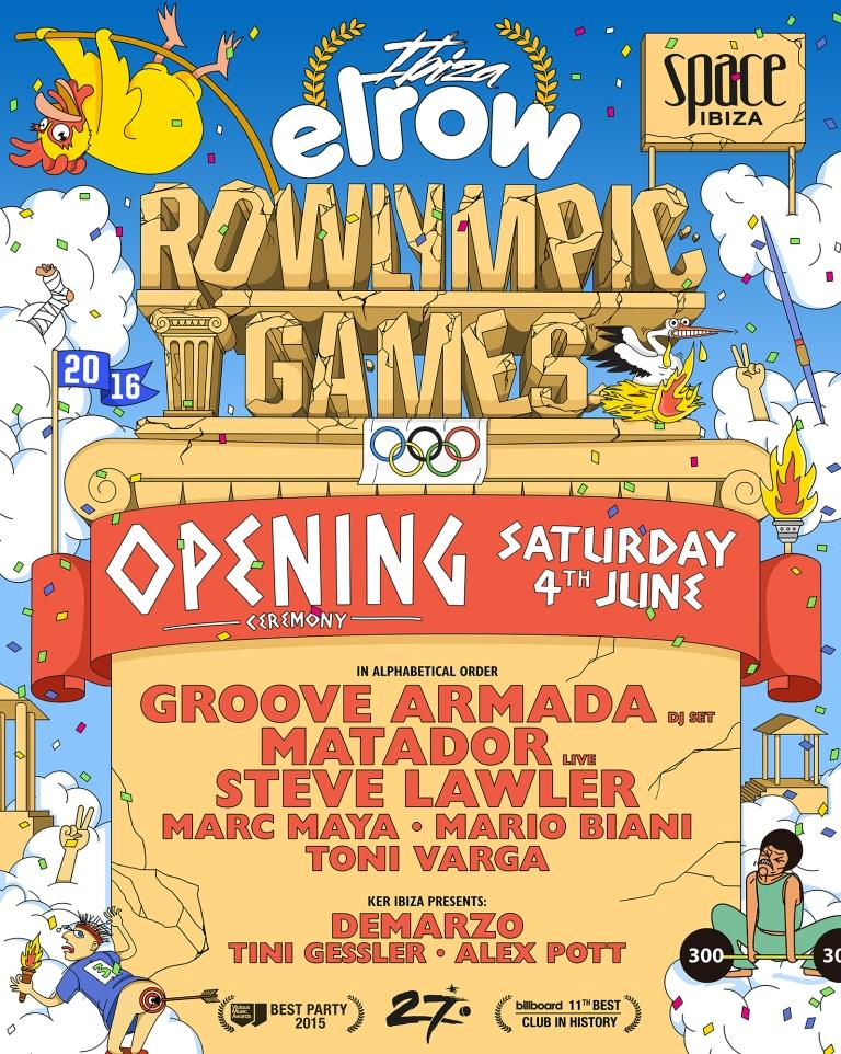 download → Steve Lawler - live at Elrow Rowlympic Games Opening Ceremony - 04-Jun-2016