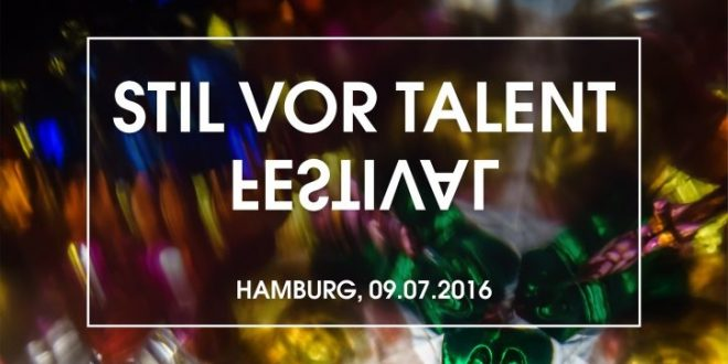 download → sets from Stil Vor Talent Festival 2016 (Hamburg) - 09-Jul-2016