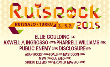 download → Studio Killers - Live at Ruisrock Festival 2015, Finland - 03-Jul-2015